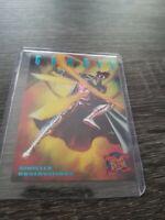 Marvel 95 Fleer Ultra Sinister Observations Gambit 4/10 Card