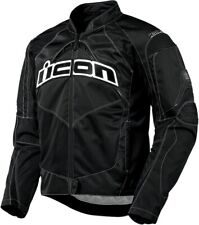 Contra Casual Riding Jacket Black/White 4X-Large Icon 2820-1646
