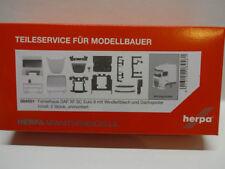 Herpa 084581 Fahrerhaus DAF XF SC Euro 6 Windleitblech Dachspoiler 2 St 1:87 Neu