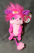 """2015 POPPLES Bubbles 8"""" Pop Open Plush Stuffed Toy Pink Spin Master NETFLIX NWT"""
