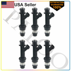 6 Pack Fuel Injectors for 2000-2005 Chevy Impala 3.4L V6 OEM Delphi 25323971