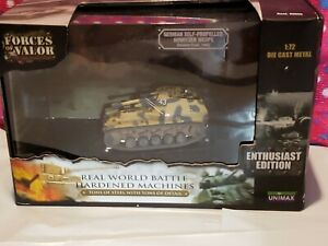 Forces of Valor  GERMAN SELF-PROPPELED HOWITZER WESPE 1/72 scale Die Cast