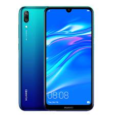 HUAWEI Y7 Pro 2019 32GB (Unlocked) Dual SIM 6.26in  Big Screen Dual Camera Blue