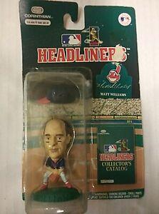 Vintage, Corinthian, MLB Headliners, Cleveland Indians Matt Williams Figure 1996