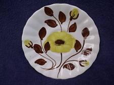 """Southern Galleries 5 7/8"""" Blue Ridge Saucer / Plate ~ Hand Painted"""