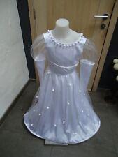 (4)Robe de princesse Blanche NEUVE 8-10ans