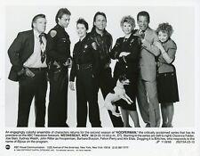 JOHN RITTER BARBARA BOSSON PORTRAIT HOOPERMAN CAST ORIGINAL 1988 ABC TV PHOTO