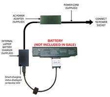 External Laptop Battery Charger for Sony VAIO AR CR NR SZ, VGP-BPS9 VGP-BPS9A/B