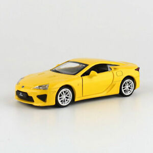 Lexus LFA Sports Car 1:43 Model Car Diecast Toy Vehicle Gift Collection Yellow