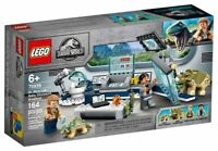 LEGO Jurassic World: Dr. Wu's Lab: Baby Dinosaurs Breakout (75939) Building Kit