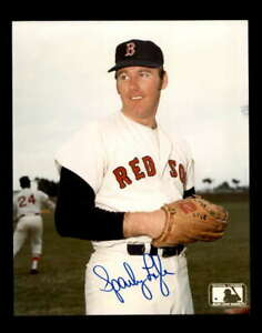 Sparky Lyle Hand Signed 8x10 Photo Autograph Red Sox