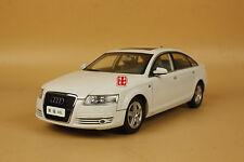 1/18 Audi A6L white color diecast model