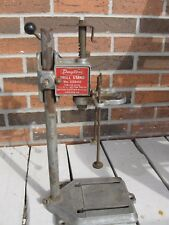 "Vintage Dayton Drill Stand Press Model 2Z040 Fits 1/4"" 3/8"" Drills USA Made"