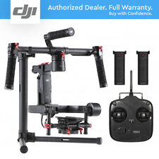 DJI RONIN M 3-Axis Gimbal Stabilizer Handheld 2x Batteries and Remote Controller