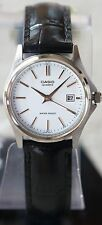 Casio LTP1183E-7A Ladies White Analog Quartz Watch Leather Band with Date New