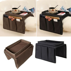 2pcs Sofa Couch Recliner Chair Armrest Organizer Armchair Caddy Holder