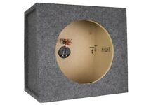 "Scosche Build-Your-Own 12"" Subwoofer Stereo Enclosure, Gray Carpet *Dm*"