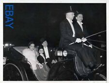 Dorothy Lamour Charlie McCarthy Edger Bergin VINTAGE Photo candid