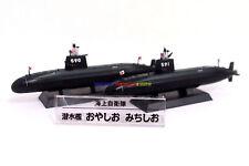1:900 Japanese Diecast Warship SS-590 Oyashio & SS-591 Michishio Submarine JMSDF
