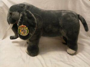 "New Melissa and Doug Jumbo 36"" Plush Elephant With Tags Large Stuffed Animal"