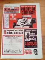 LE HERISSON n°1827 - 1982 - Pilote de course grand prix - Elysée en anecdotes