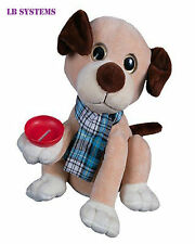 Laughing Dog Money Bank Feed your dog a coin and watch him roll global gizmos