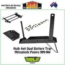 Hulk 4x4 Dual Battery Tray suits Mitsubishi Pajero NM-NW