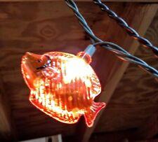 Christmas Fish String Lights 10 Fish / String ~ INDOOR/OUTDOOR