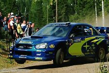 Petter Solberg WORLD RALLY CHAMPION 2003 SUBARU IMPREZA HAND SIGNED PHOTO AB
