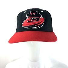 Texas Tech Red Raiders Mascot Baseball Cap Hat Adjustable Zephyr Wool Blend