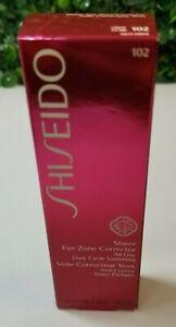 Shiseido Sheer Eye Zone Dark Circles Corrector, 0.14oz - 102 LIGHT  New