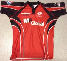 Saracens  Rugby Shirt Players Issue Match Shirt