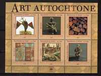 10167) United Nations (Geneve) 2004 Indigenous Art S/S MNH