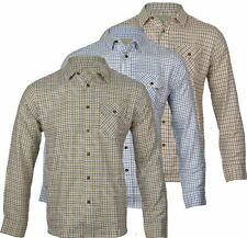 Unbranded Men's Regular Long Sleeve Check Casual Shirts & Tops