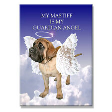 Mastiff Guardian Angel Fridge Magnet New Dog Pet Loss