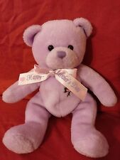 Ty Beanie Babies Love To Mom Happy Mother's Day 2007 Purple Bear