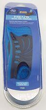 Kroger Men's Dual Gel Shock-Absorbing Insoles Size 8-13, One Pair, Trim To Fit