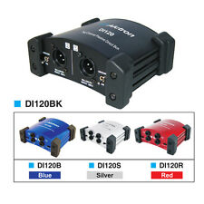 Free Shipping Alctron DI-120 Dual Channel Stereo Passive Direct Box Di box Dibox