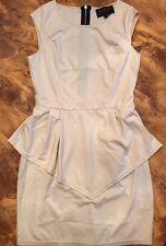 Women's Ladies Peplum Dress Size 12