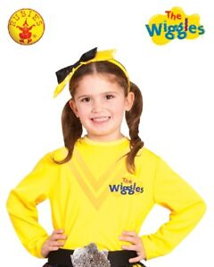 THE WIGGLES-YELLOW EMMA WIGGLE Character Long Sleeve Top Costume Sz1-3yrsToddler