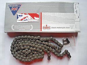 DRIVE CHAIN 1/2 x 5/16 428 x 114 115 Links. Elite Wassell Ariel Arrow  BSA C15