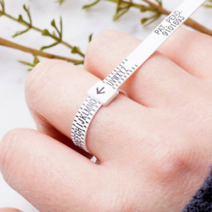UK  Ring Finger Sizer measure gauge all UK British sizes A - Z+2 Free Postage