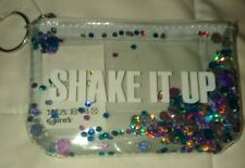 """Change Purse W/ Key Fob & Moving Sequins Inside, Words On Outside """"Shake It Up""""!"""