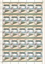 1952 SNCF Class CC 7100 No.7121 France Train 50-Stamp Sheet / LOCO 100 LOTW