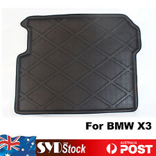 Rear Trunk Tray Boot Liner Cargo Mat Floor Protector For BMW X3 Aussie Stock OZ