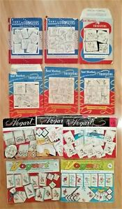 Aunt Martha's Hot Iron Transfers, Vogart Transfer Patterns, Embroidery or Paint