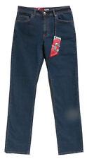 Herren-Straight-Cut-Jeans aus Denim mit niedriger Bundhöhe (en) Hosengröße 30