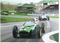 Jim Clark, Lotus18, Formula Junior, Goodwood, Classic Team Lotus limited print
