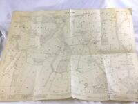 1911 Antico Map Sussex Ashington Jessups Fattoria Horsham District Furzefield