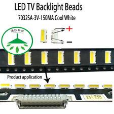 100pcs /lot 3V FOR LCD TV repair led TV backlight strip light-diode 7032 SMD LED